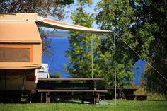 Camping en famille: Village historique de Val-Jalbert 95, rue Saint-Georges Chambord 1-888-675-3132 Camping Au Quebec, Saint Georges, Le Village, Quebec City, Banff, Plein Air, Porch Swing, Tour Guide, Calgary
