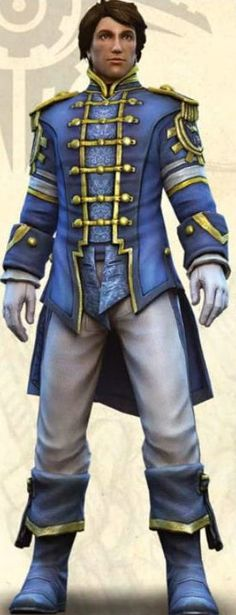 Fable 3 Male Hero, they went with a more royal look in the third game, I did not like it as much as the second.