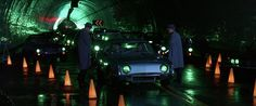 1963 Studebaker Avanti used as futuristic transportation in Gattaca.