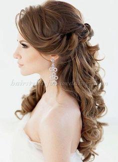 Becky G saved to HairstylesRomantic/Elegant Wedding Hairstyle - Weddingbee #wedding #weddinghairstylesforshorthair #weddinghairstylesmediumlength
