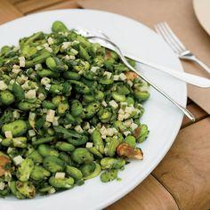 Charred Fava Bean Salad with Lemon and Tarragon // More Fantastic Salads: http://www.foodandwine.com/slideshows/salads #foodandwine