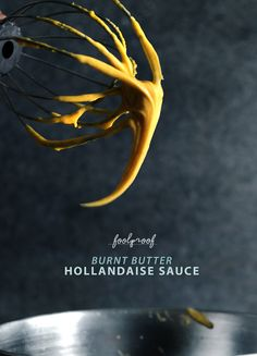 """I'm sure it happens to everybody. I know, self-assuringly, that I'm not alone on this... I'm sure that once in a while, we all come across a recipe, a """"trick"""" really, that gets us so excited we forget to reasonably doubt and then it fails on such an epic... #blender #brownbutterhollandaise #brunch"""