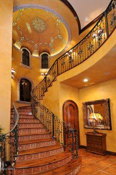 Spanish Villa Entry & Staircase   Trulia     ᘡղbᘠ