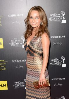 Giada makes Missoni's classic prints look extra sophisticated