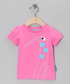 Take a look at this Pink Elsa the Giraffe Tee - Infant, Toddler & Girls by Eggkids on #zulily today!