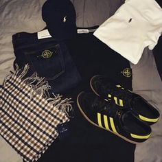 AWAY DAYS FOR THIS CASUAL INCLUDES HAMBURGS AND STONE ISLAND