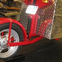 Photo by Greg Olson Expedition Trailer, Kustom, Trailers, Crafts, Motorbikes, Manualidades, Hang Tags, Handmade Crafts, Craft
