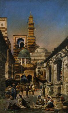 Robert Alott, Old Cairo