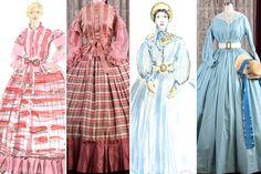 Up Close with the Elaborate Civil War–Era Costumes of Mercy Street Mercy Street Pbs, Costume Design Sketch, Civil War Fashion, Civil War Dress, Period Costumes, Fashion History, Vanity Fair, Vintage Dresses, Girl Fashion