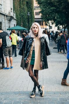 "The Intersection video series is back. First stop? Santiago, with the style blogger Valentina Ríos as our guide. ""I love this neighborhood because it's a mix of really modern people and really vintage, old-fashioned people,"" said Ms. Ríos. Video by Oresti Tsonopoulos and Alexandra Stewart."