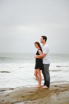 Wind and Sea La Jolla Engagement Session Engagement Session Photo by Alon David Photography San Diego Top Wedding Photography Studio Beach Engagement, Engagement Session, Engagement Photography, Wedding Photography, San Diego Beach, La Jolla, Beach Dresses, Sea, Sunset