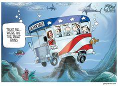 Gary Varvel (2016-12-01) USA: Democratic party