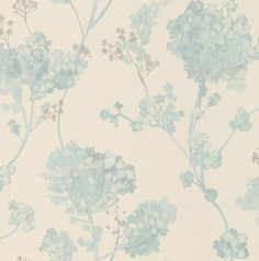 Misty Floral Aqua wallpaper by Albany