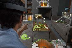 Microsoft HoloLens: VR-Brille und Hologramm-Technologie vorgestellt