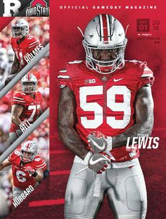 Rutgers Gameday Magazine - Go inside the game with today's Gameday program Collage Football, Football Banner, Football Program, Football Team, Football Helmets, Buckeyes Football, Ohio State Buckeyes, Sports Graphic Design, Sport Design