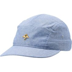 Sit back, relax, and enjoy the high style of the Free Bricks 5 Panel hat from LRG. All over light blue chambray keep the small metal Lifted Research Group tree logo looking fresh while the cotton construction keeps your head cool and comfortable. Custom fit the Free Bricks camper hat with a strapback size piece and get the street wear style you need from LRG.