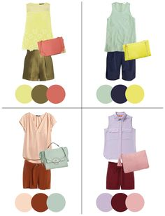 In Living Color - Penny Pincher Fashion - Fashion Etc. - Penny Pincher Fashion: In Living Color - Colour Combinations Fashion, Color Combinations For Clothes, Fashion Colours, Colorful Fashion, Color Combos, Color Schemes, Colour Match, Look Fashion, Trendy Fashion