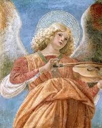 Melozzo da Forli, a music-making angel