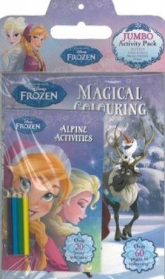 Frozen Jumbo Activity Pack,