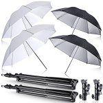 Neewer Off Camera Parapluie kit pour Canon 430EX II, 580EX II, 600EX-RT, Nikon SB600SB800SB900, YN 560, YN 565, Neewer Tt560, Tt680,…