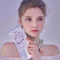 Nice to meet chuu ; Sweet Makeup, Love Makeup, Makeup Looks, Anastasia, Dress Design Sketches, Face Photography, Hair Reference, Model Face, Grunge Girl