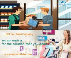 #Odooerp for #retailIndustry can bring out the true benefits for both your #business and customers. Furthermore, it provides a combination of flexibility, process efficiency, reliable information, and responsiveness. #retailERP #ERP #retail .