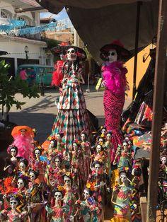 Carroñas de papel mache hecha en Tonala