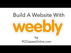 Build A Website With Weebly