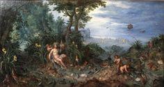 Allegory of Water (Lyon) | Brueghel Family: Jan Brueghel the Elder