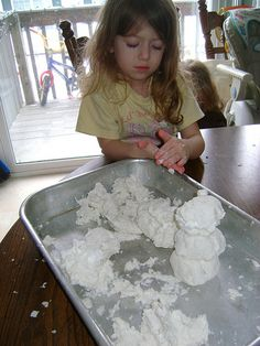 Clean Mud-  toliet paper, warm water, small bars of soap and you can add dish soap too.