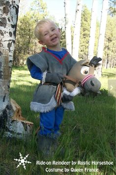 Your little Kristoff can now help Anna save the summer! This costume has been lovingly made with a rugged little boy in mind. I have serged all the