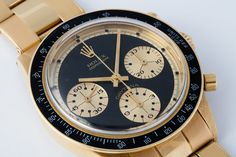 Rolex Cosmograph Daytona Paul Newman Retailed by Hermes Reference 6241