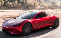 Tesla Roadster is the quickest car in the world, with record-setting acceleration, range and performance. As an all-electric supercar, Tesla Roadster races to… Tesla Motors, Tesla S, Tesla Roadster 2017, Tesla Roadster Price, Bugatti, Lamborghini, Ferrari, Elon Musk, Supercars