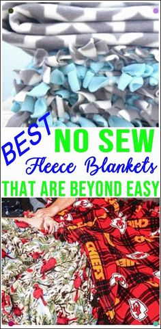 Simple diy no sew fleece blankets! how to make no sew fleece blankets fun diy craft projects kids adults gifts how to mod podge flower pots easy diy gift idea Diy Craft Projects, Craft Projects For Adults, Crafts For Teens To Make, Fun Diy Crafts, Sewing Projects For Beginners, No Sew Crafts, No Sew Projects, Craft Ideas, Baby Crafts To Make