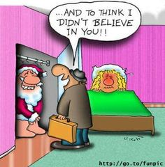 Funny Christmas Pictures, Santa Claus Images, Pics - page 9 Funny Christmas Cartoons, Funny Christmas Pictures, Christmas Jokes, Funny Cartoons, Christmas Fun, Xmas, Naughty Santa, Naughty Christmas, Funny Images
