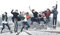 """BTS fullteam jump"" Posters by alt-air 