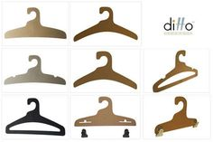 Cardboard Hangers: Ditto's Eco-Friendly Hangers Save Land Fill Space