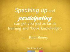 Emerging Leader Spotlight: Parul Shorey