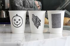 Stamp designs for Kit & Ace's Sorry Coffee Co in TorontoPhotography by Warren Keefe ( www.warrenkeefe.com )