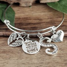 GiftJewelryShop Silver Plated Muchas Poetry Photo I Love You Charm Beads Bracelets