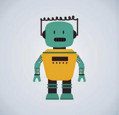Robot Vector Characters