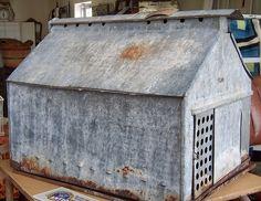 Galvanized Steel Chicken Barn