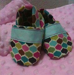 Kayla Crib Shoes by LittleBubbaloo on Etsy, $10.50