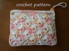 Ravelry: purse, pouch, summer zip purse, wallet, money coin purse pattern by pearl hegedus