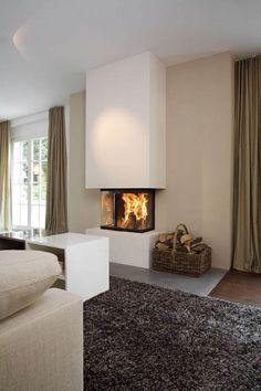 panoramakamine von brunner feuer von 3 seiten fire place pinterest kamineinsatz. Black Bedroom Furniture Sets. Home Design Ideas