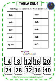 Mi Cuadernillo de las tablas de multiplicar - Imagenes Educativas