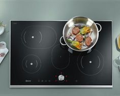 Kitchen: Induction hob.