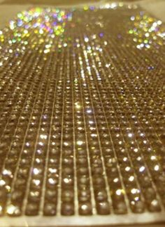 Diamond Rhinestone Adhesive Sheets, trim and add to vases, candles, napkin rings, bouquets, find your inspiration!