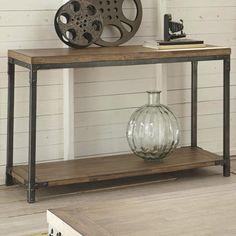 Nebraska Furniture sofa table $209