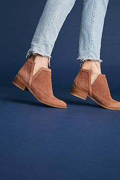 f038ebce4b Kaanas Mexicali Perforated Booties Spring Boots, Anthropologie, New Shoes,  Heeled Mules, Footwear